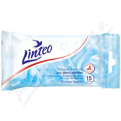 Vlhčené ubrousky LINTEO Satin antibakteriální 15ks