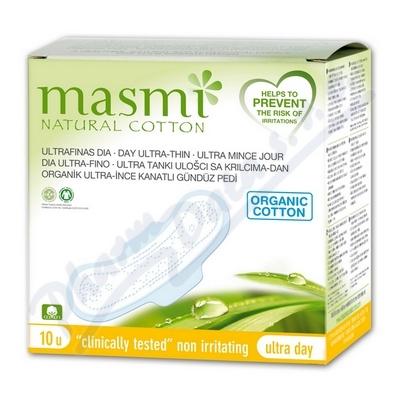 Vožky MASMI ULTRA DAY z organické bavlny 10ks