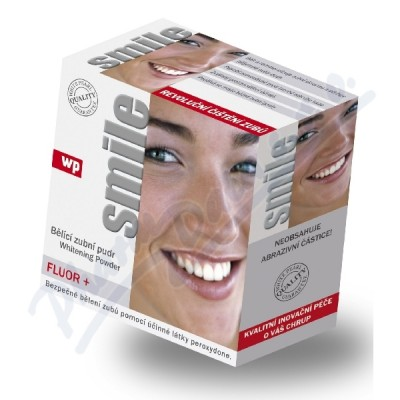 WP SMILE Fluor 30g bělící zubní pudr