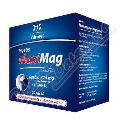 Zdrovit Magnezium+B6 FORTE rozpus.granulát 20sáčků