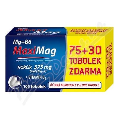 Zdrovit MaxiMag Mg+B6 tob.75+30 zdarma