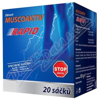 Zdrovit Muscoaktiv Stop křečím Rapid 20sáčků