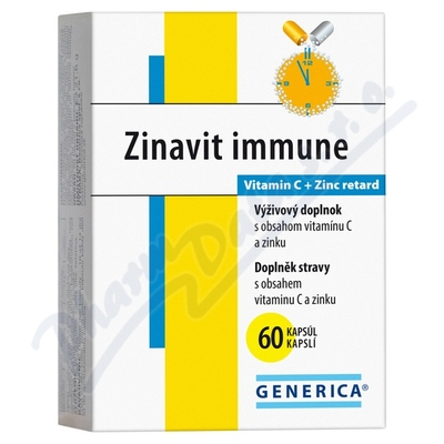 Zinavit immune Generica cps.60